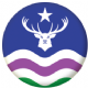 Exmoor Flag 58mm Fridge Magnet